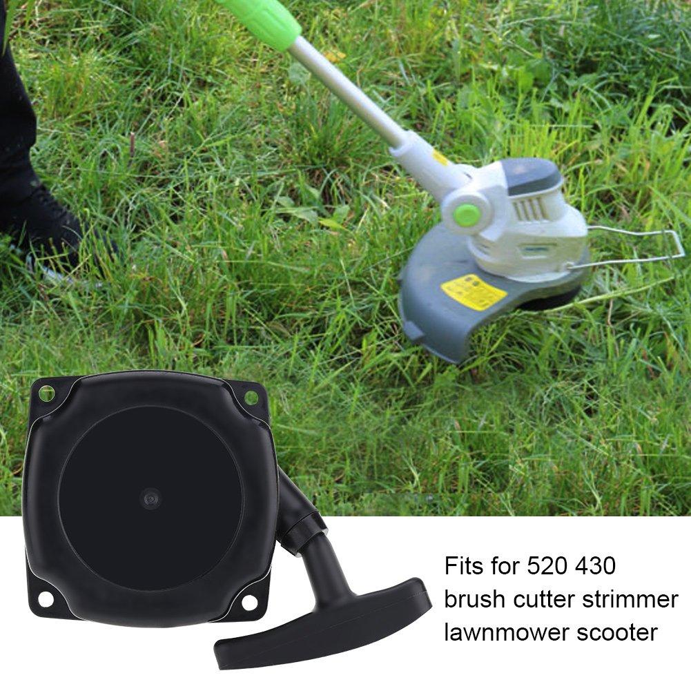 Arrancador de Retroceso, cortacésped Arranque fácil de Arranque para 520 430 Cortacésped Strimmer Cortacésped Scooter