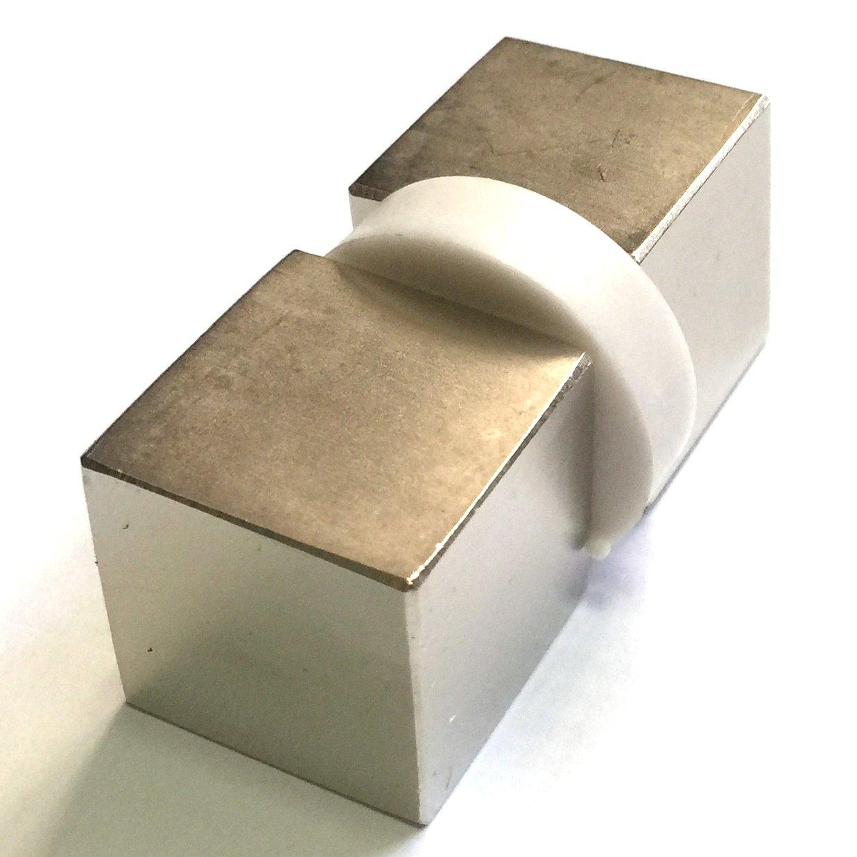2pcs SUNKEE 1 Cube Block Neodymium Magnet 1 x 1 x 1 Rare Earth Neodymium strong magnet