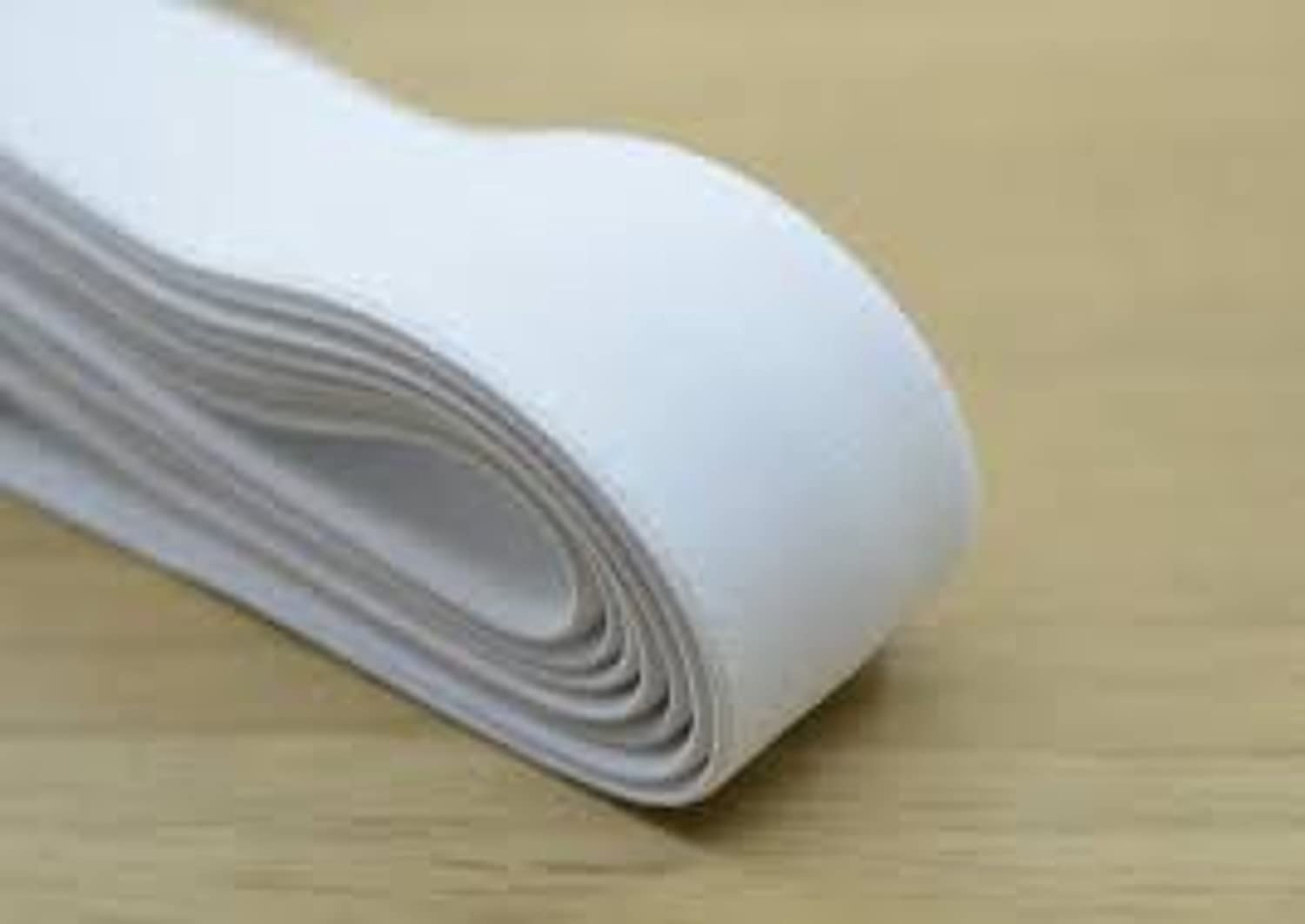 Handpicked 1.5-inch White Elastic for Tailoring and Sewing 10 meters
