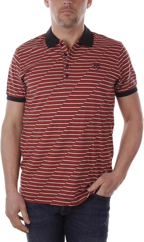 Diesel T-Bents Camicia Polo Hombre (L, Rojo): Amazon.es: Ropa y ...