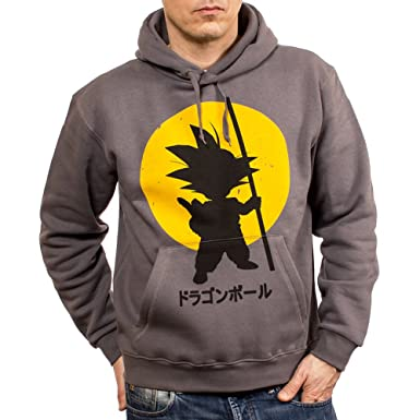 MAKAYA Son Goku Sweatshirt - Hoodie Grey Size M
