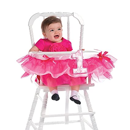 Image Unavailable Not Available For Color Little Princess 1st Birthday Party Decoration Pink High Chair