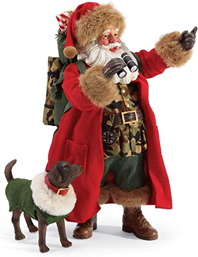 Department 56 Possible Dreams Santa Sports and Leisure Wilderness Wise Figurine Set, 10.5 Inch, Multicolor