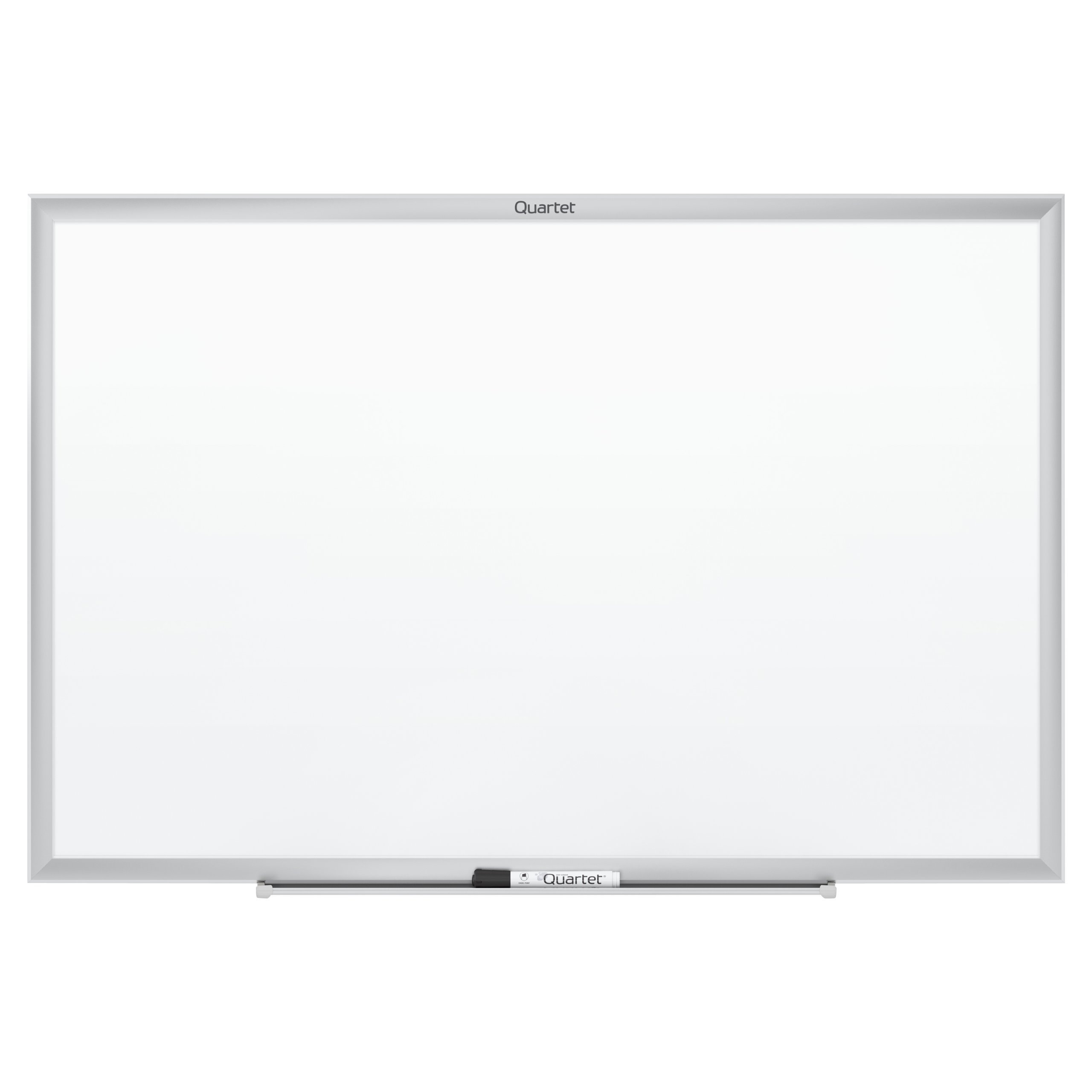 Quartet Dry Erase Board, Whiteboard / White Board, Magnetic, 8' x 4', Silver Aluminum Frame (SM538)