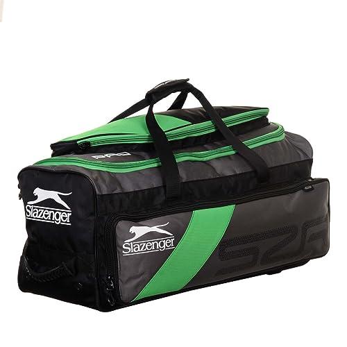 Slazenger Unisex Pro Bolsa de viaje con ruedas - Talla única ...