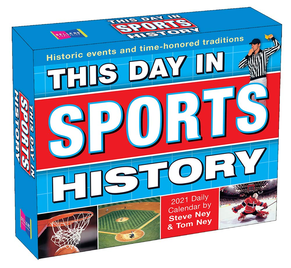 Image for 2021 This Day in Sports History Boxed Daily Calendar