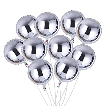 Toymytoy Folienballon Rund 18 Zoll Diy Geburtstags Folieballon Deko