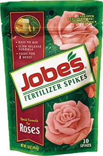product image for Jobes 4102 Rose Fertilizer Spikes 9-12-9 10 Pack