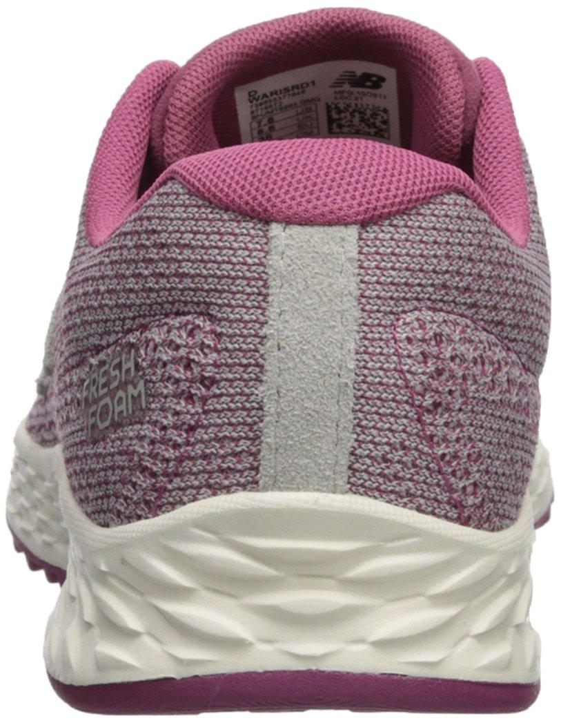 New Balance Women's Fresh Foam Arishi V1 Running Shoe B06XSC9PR3 5 D US Dragon Fruit/Overcast