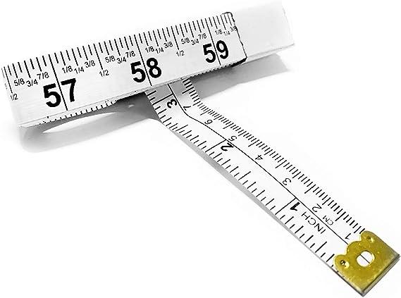 Stainless Steel 2 Meters Flexible Measuring Tape Measure