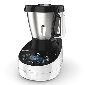 Imetec Cukò Pro XL CM3 2000 Robot da Cucina Multifunzione con Cottura,  Cooking Machine 20 Programmi Automatici, 10 Funzioni, Impasta Pane e Pizza,  6 ...