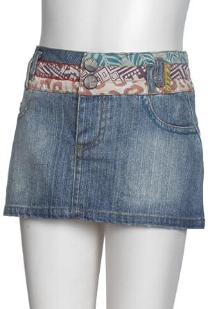 Desigual Falda Mini para niña, Color Azul Niza, Talla 11-12 años ...