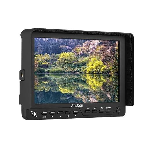 2 opinioni per Andoer S7 Professional 7 Pollici Sulla Fotocamera Monitor IPS Full HD 1920 *