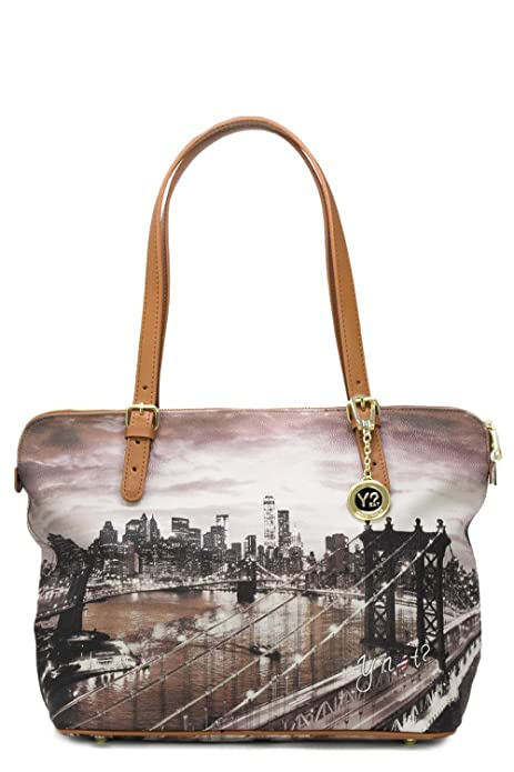 YNOT BORSA DONNA SHOPPING BAG MEDIUM K-377 unica new york  Amazon.it  Scarpe  e borse c084b075c66
