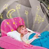 Bestway Dream Glimmers Kids Airbed, Pink | Projects Stars & Night-Light Onto Ceiling | Great For Toddlers Ages 2-4