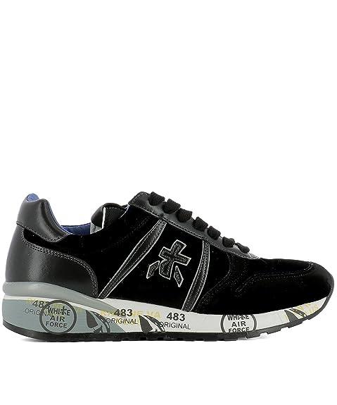 PREMIATA Sneakers Donna Diane2634 Velluto Nero: Amazon.it
