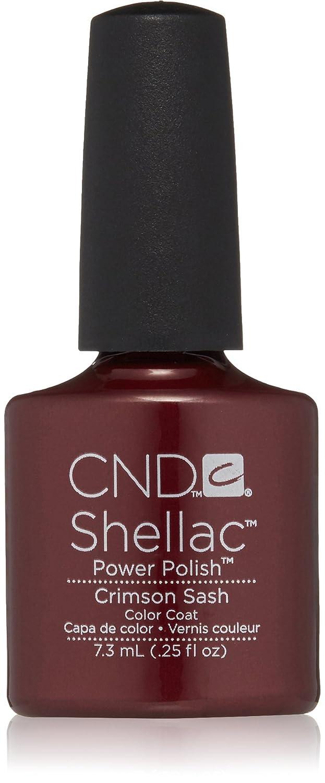 CND - Shellac, Smalto per unghie UV, Crimson Sash, 7 ml CND Shellac CNDS0013