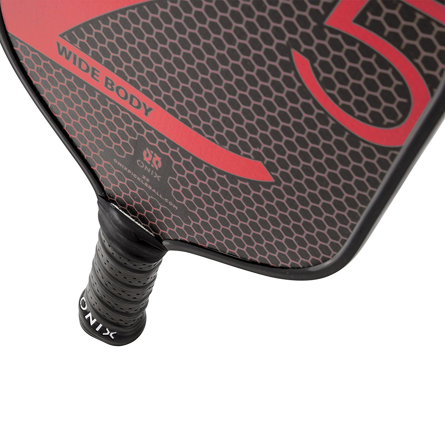 Onix Z5 Graphite Pickleball Paddle and Paddle Cover (Red) by Onix (Image #3)