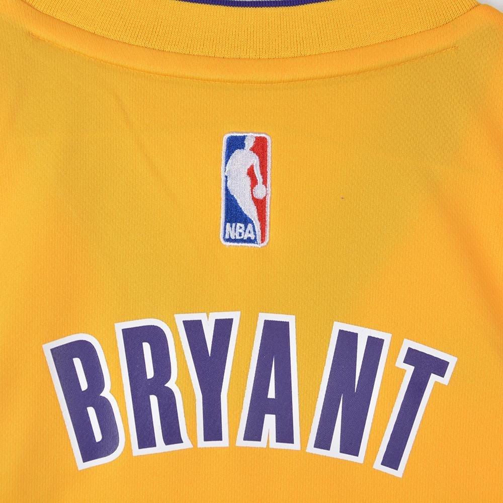 Adidas Int Replica Jrsy Camiseta de Baloncesto, Hombre, Amarillo/Morado / Blanco, S: Amazon.es: Deportes y aire libre