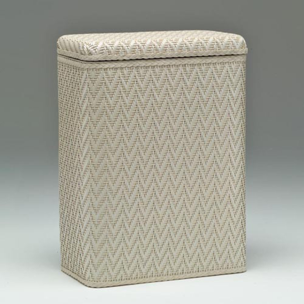 Redmon 423CR Elegante Collection Decorator Wicker Hamper, Cream
