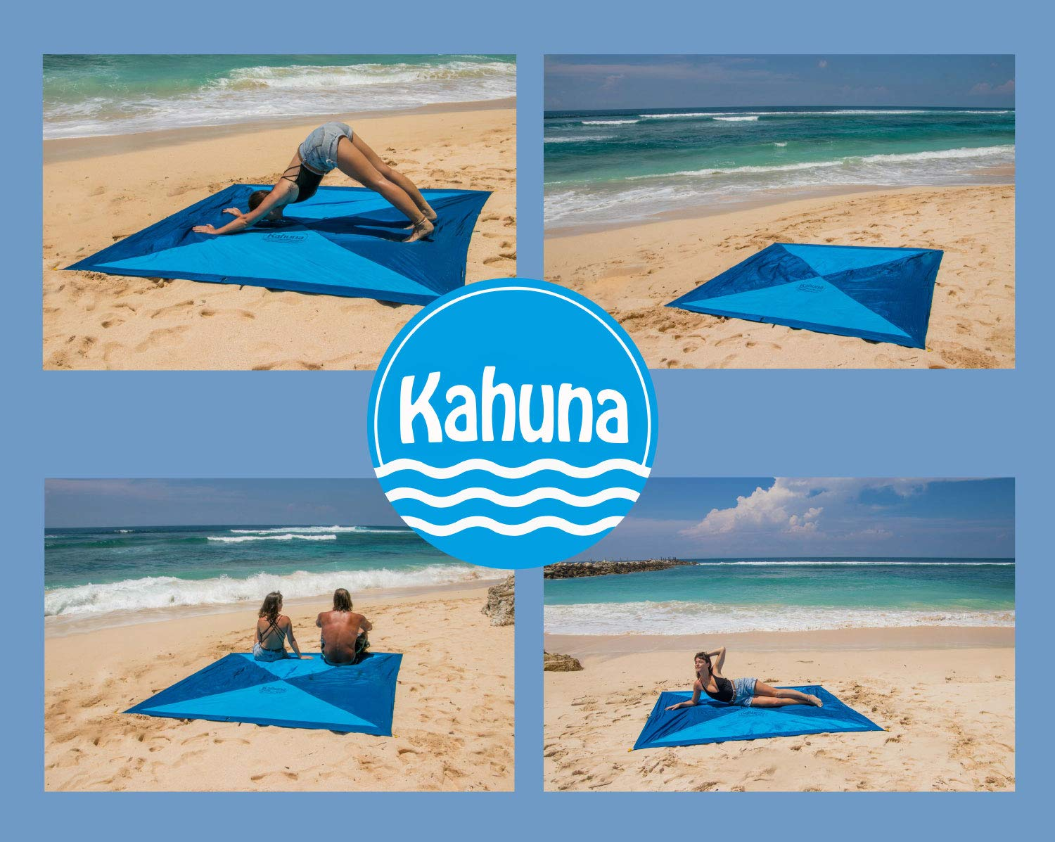 Amazon.com: Kahuna Next Gen manta de playa de paracaídas ...
