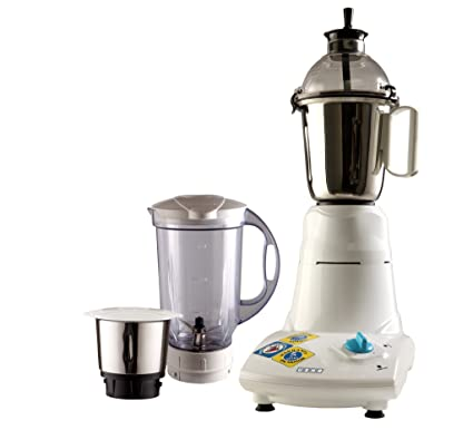 a5bb189b16 Buy Usha Mixer Grinder (MG-2573) 750-Watt 3 Jars (White) Online at Low  Prices in India - Amazon.in