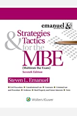 Strategies & Tactics for the MBE (Bar Review) Kindle Edition