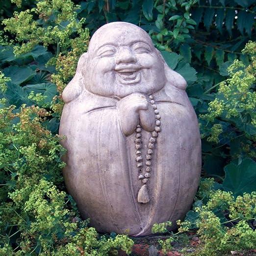 Escultura del jardín grande - rogando chino estatua de Buda: Amazon.es: Jardín
