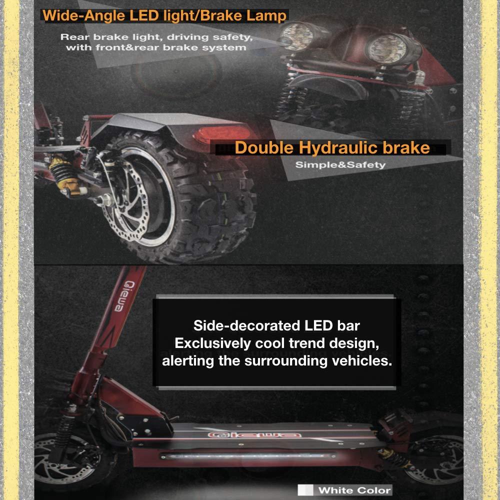 Amazon.com: QiEWA QPOWER - Patinete de motor doble para ...