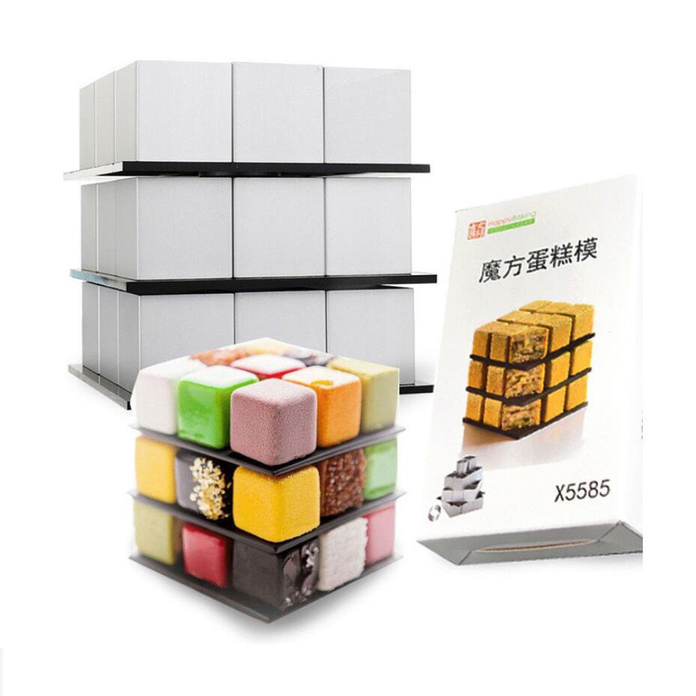 GXHUANG Aluminum Alloy Cake Baking Mold Springform Pan (Cube)