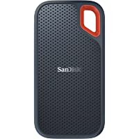SanDisk 500GB Extreme Portable External SSD - Up to 550MB/s - USB-C, USB 3.1 - SDSSDE60-500G-G25