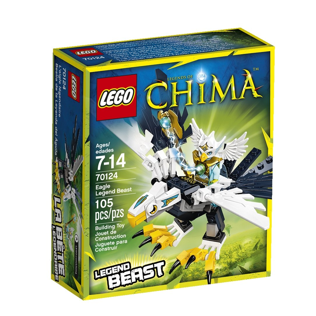 Amazon chima party supplies - Amazon Com Lego Legends Of Chima Eagle Beast Legend 70124 Toys Games