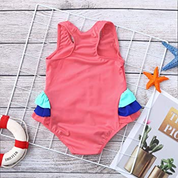 Waymine Baby Rompers--Toddler Girls Sleeveless Strap Solid Color One Piece Bodysuit Dress