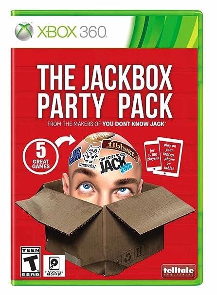 Amazon com: The Jackbox Party Pack - Xbox 360: Ui Entertainment