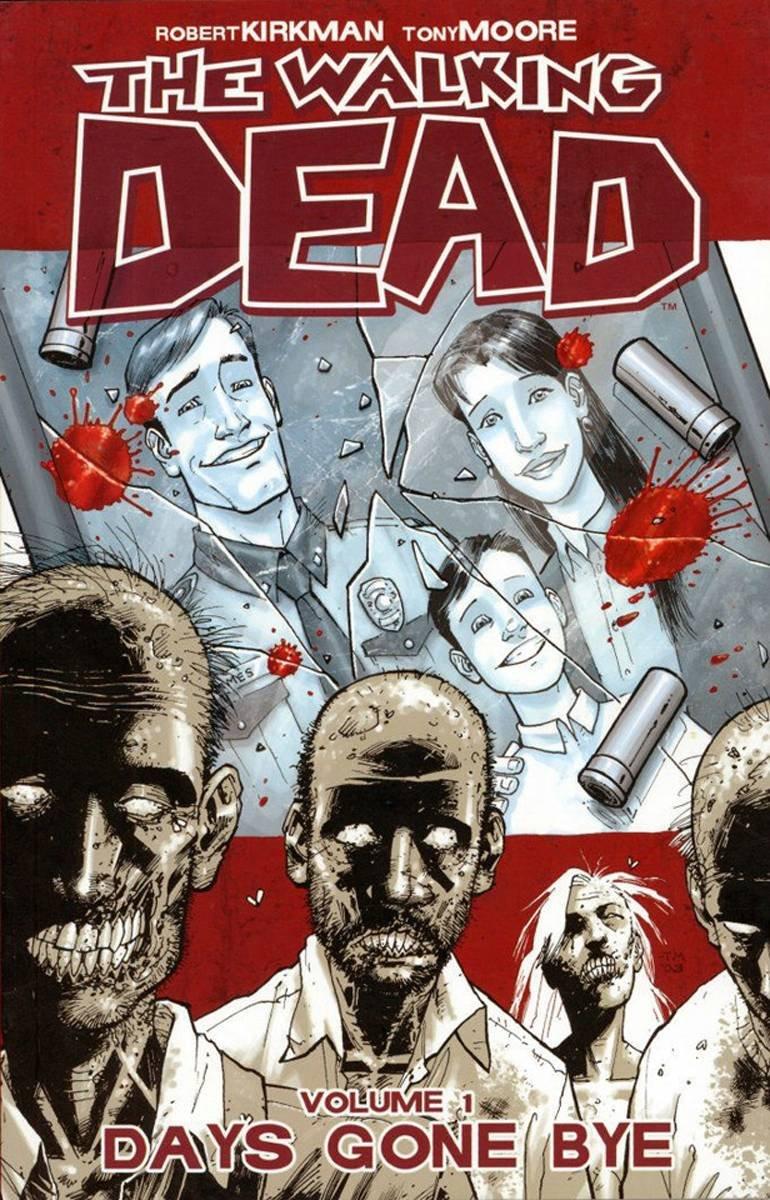 Image result for the walking dead graphic novel