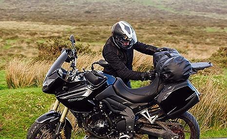 Supafactory 40L Waterproof Dry Roll Bag For Motorcycles /& Motorbikes