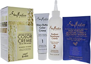 Shea Moisture Nourishing Rich System Light Blonde 1 Application Hair Color