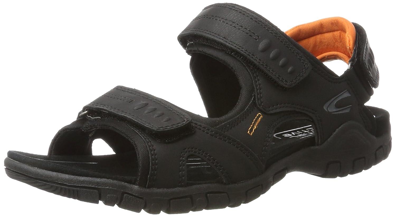 Black (Black orange) camel active Men's Ocean 11 Open Toe Sandals