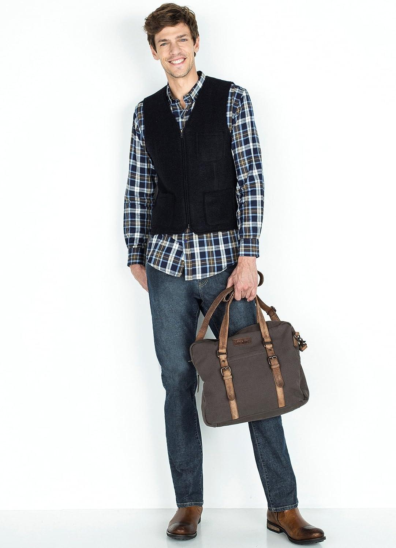 SOMEWHERE Gilet sans manches homme laine bouillie, ELTHAM - NOIR BLEUTE -  4103551  Amazon.fr  Vêtements et accessoires 6c133672f7c9