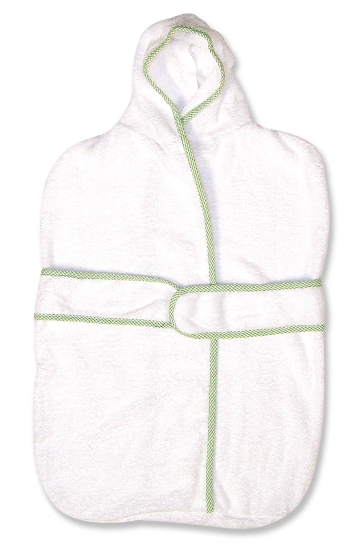 Trend Lab Kimono Terry Velour Bath Bag in Blue Seersucker Trimmed 100315 TL1-100315-MP1818
