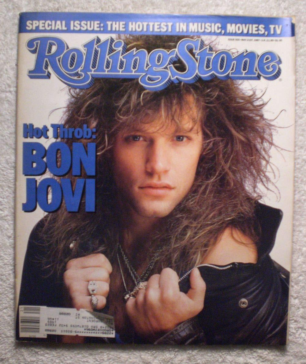 Bon Jovi - Hot Throb – Rolling Stone Magazine - #500 - May 21, 1987
