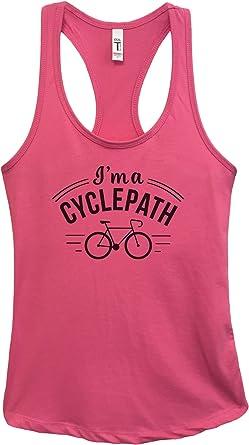 Women/'s Workout Shirt Gym Shirt Indoor Cycling Tank Cycling Tank Heart Says Ride Workout Tank Cycling Shirt Fitness Shirt