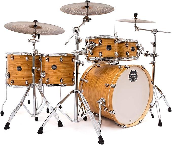 Mapex AR628SFU-DW Armory Rock Fusion - Juego de batería: Amazon.es: Instrumentos musicales