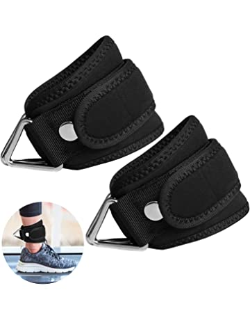 SUPRBIRD Grip Power Pads Best Ankle Straps for Cable Machines Adjustable Neoprene Premium Cuffs to Enhance
