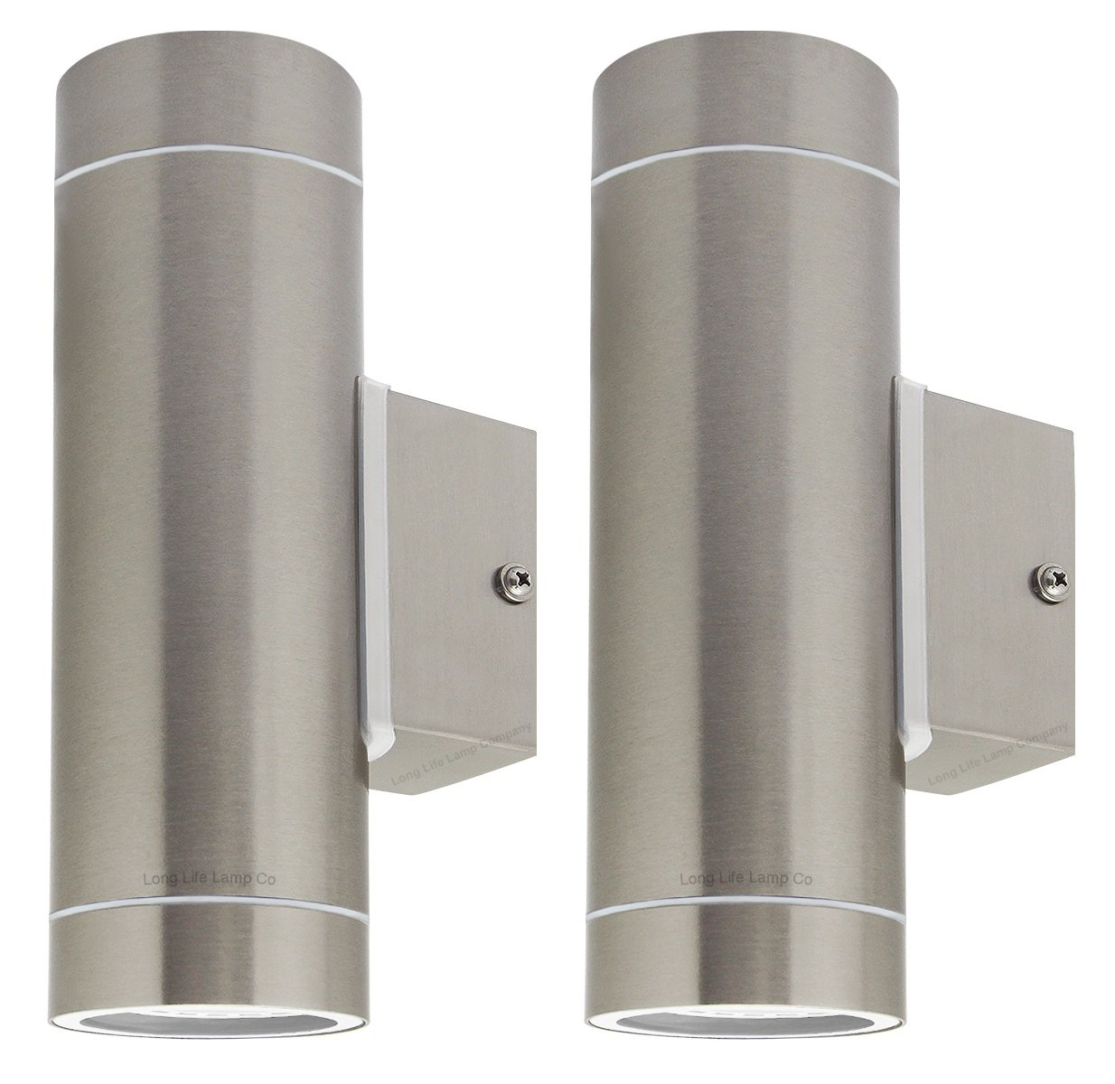new arrival bd171 10e8c Stainless Steel Double Outdoor Wall Light IP65 Up / Down ...