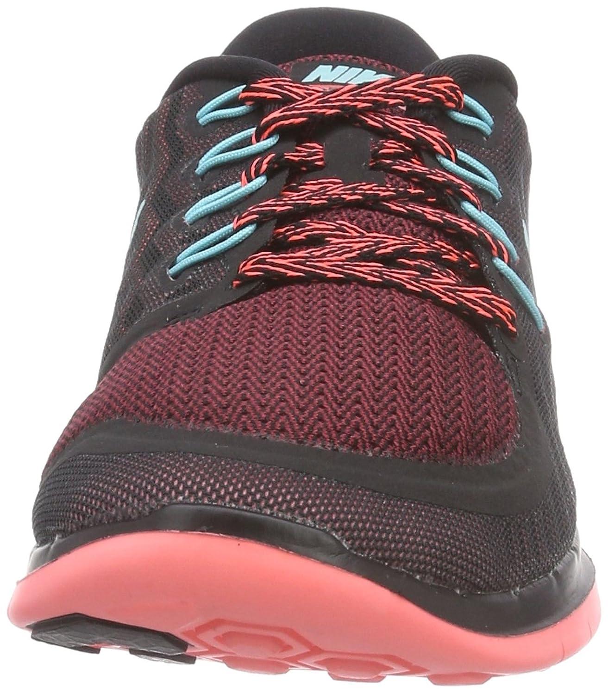 Nike Free 5.0Scarpe da corsa da donna, LGHTAQ-BLACK