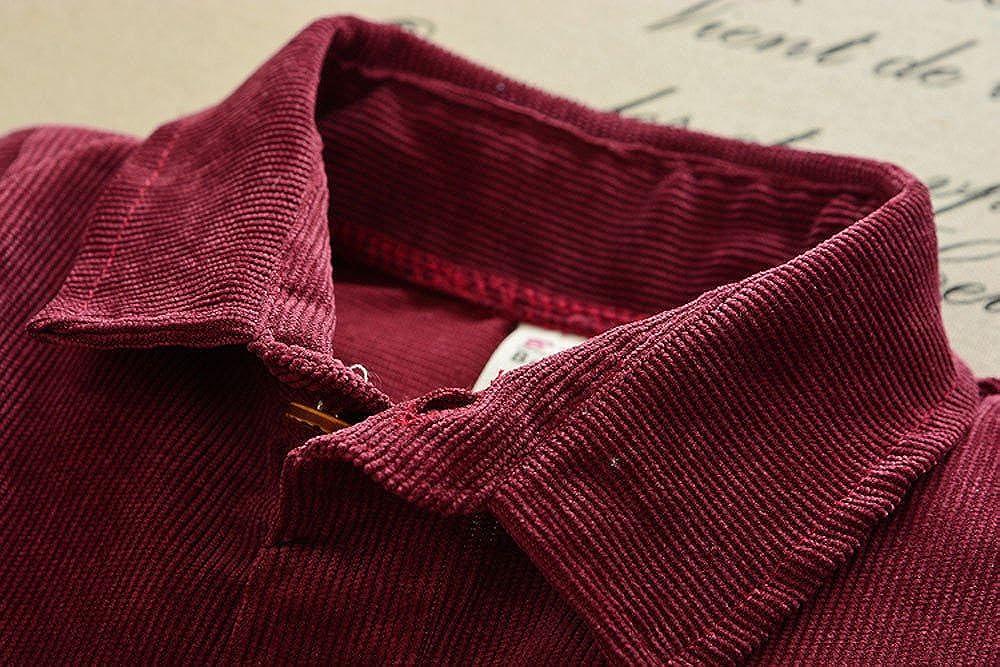 Fulltime(TM)-Bebés Niños Camisa Sólida Tops Pantalones de Mezclilla 2 Unids Set Outfit Clothes (Vino Rojo, 6 meses): Amazon.es: Ropa y accesorios