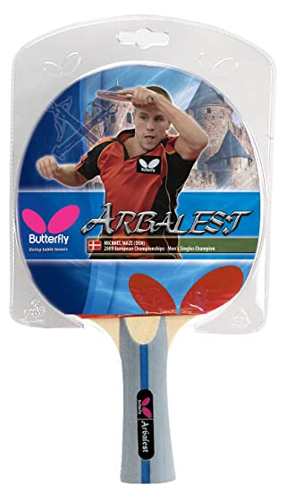 Butterfly Arbalest Shakehand Racket Table Tennis at amazon