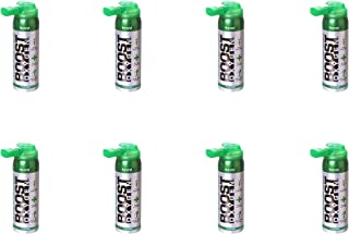 product image for Boost Oxygen Canned 2-Liter Natural Inhaler Canister Bottle for High Altitudes, Athletes, and More, Flavorless (8 Pack)