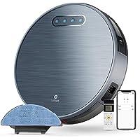 LEFANT Robot Aspirador y Fregasuelos y 3 Horas de autonomía 4500MAH WiFi con 2200 Pa,aplicación doméstica Alexa/Google…
